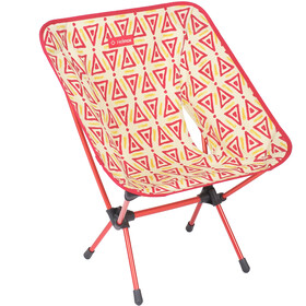 Helinox One Chaise, triangle red/red
